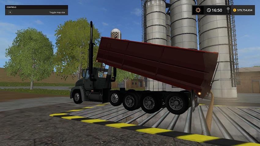 Mack Vision Grain truck v 1.0