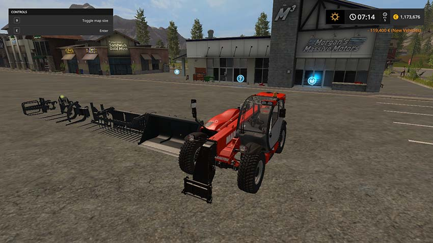 Manitou MLT840 Pack DH