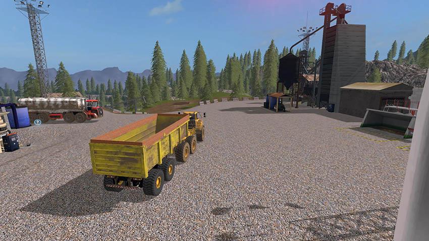 Modpack Volvo A40G + Semitrailer v 1.0