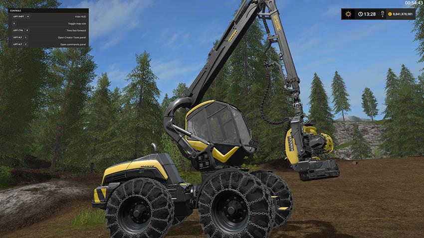 NRM17 Ponsse Wolverine v 1.0