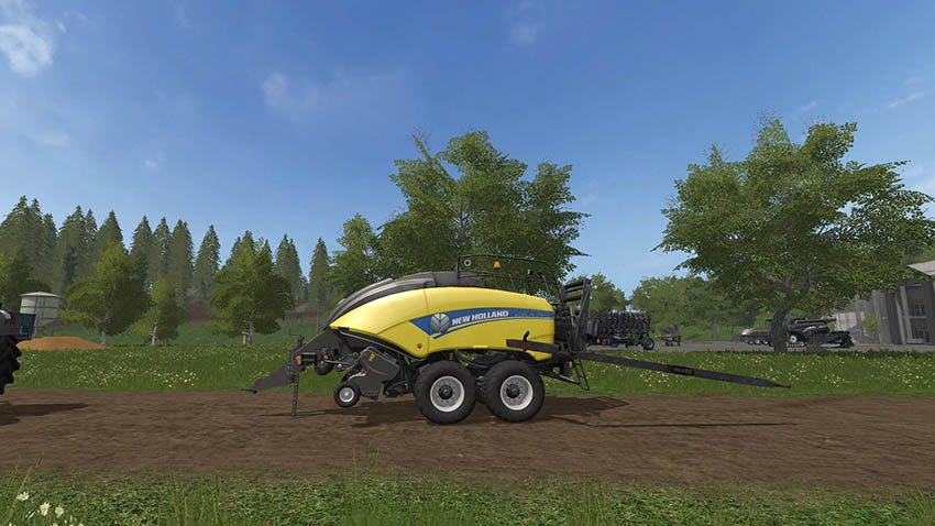 New Holland CR10 90 Pack v 1.0 & Baler v 1.3