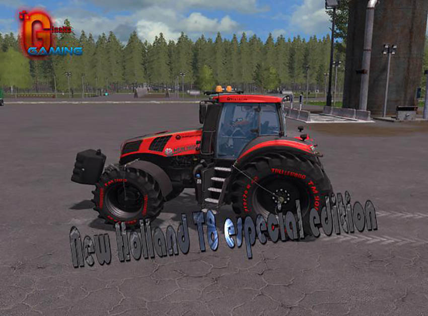 New Holland T8 especial edition v 1.0