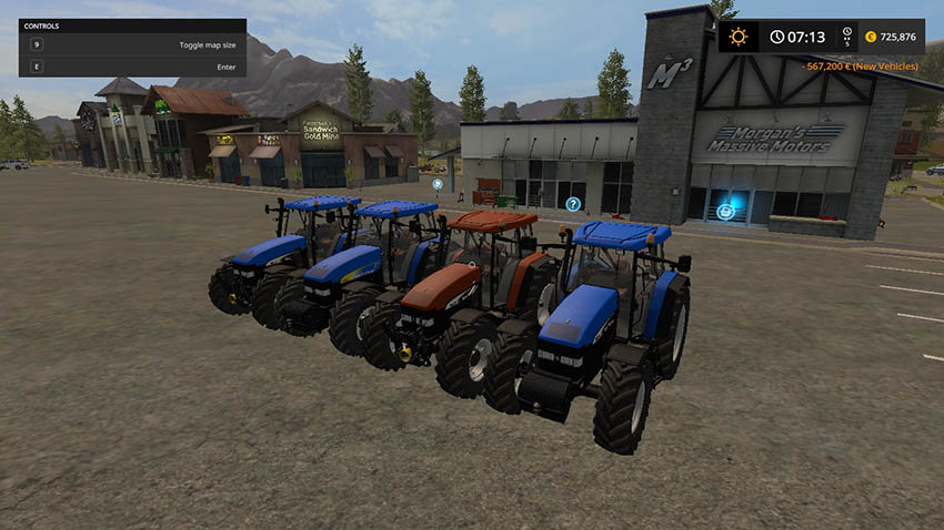 New Holland TM Series (175/190) v 1.0