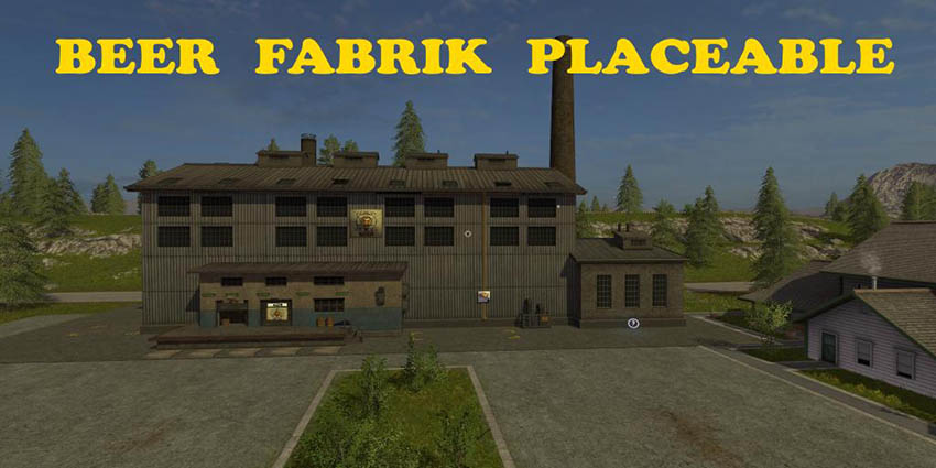 Placeable Beer Fabrik v 1.0