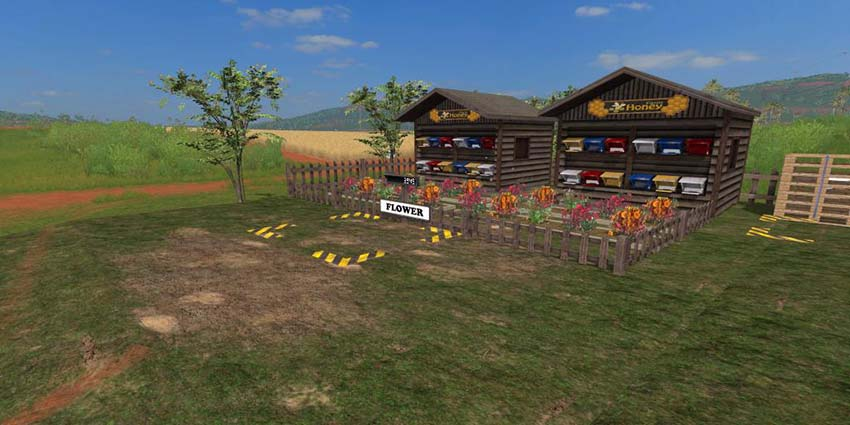 Placeable Honey Farm v 1.0