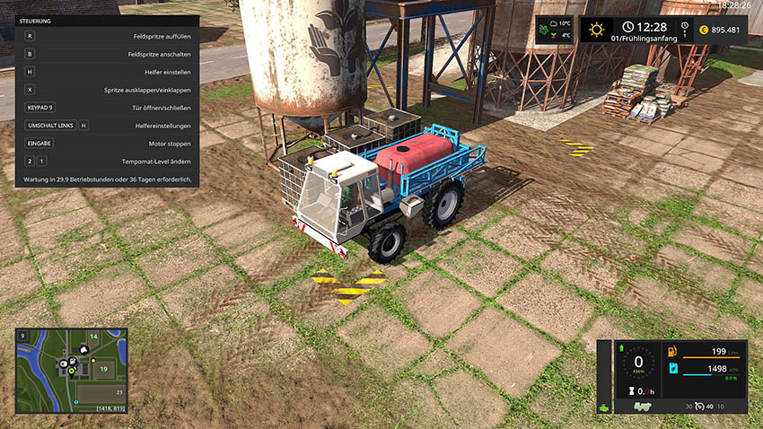 RP - 6018 Selbstfahrerspritze v 1.0.0.1