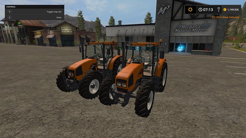 Renault ARES SERIES 600 v 1.0