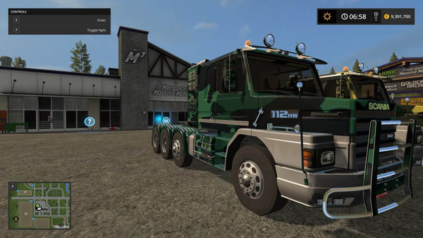Scania 112 Forest Multi-Color V 1.0