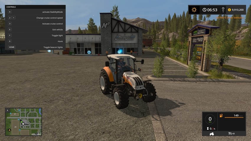 Steyr 4115 Multi Ecotronic Tractor V 3.0