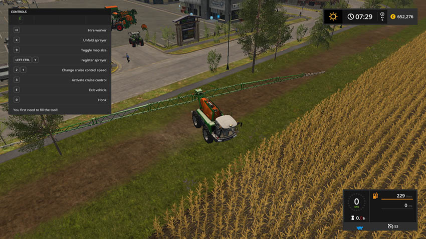 Amazone Sprayer Pack v 2.5