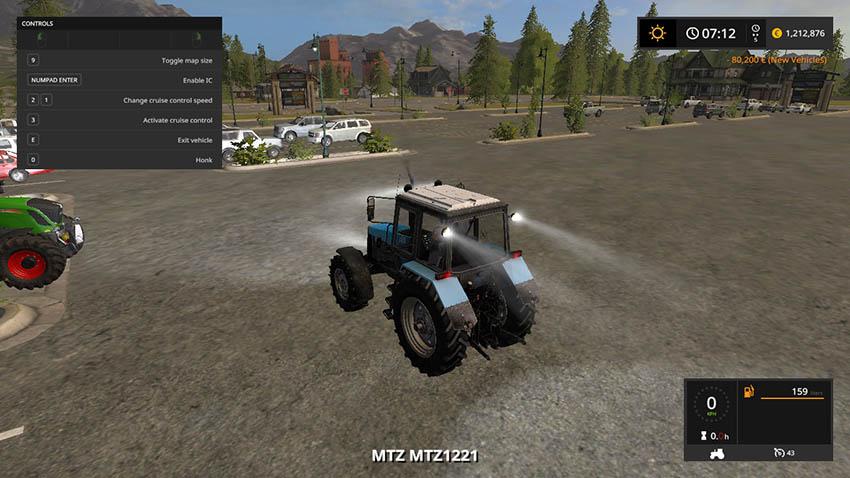 Belarus 1221 MTZ