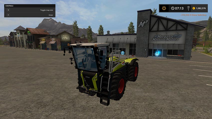 CLAAS XERION 4000 ST PACKS v 1.0