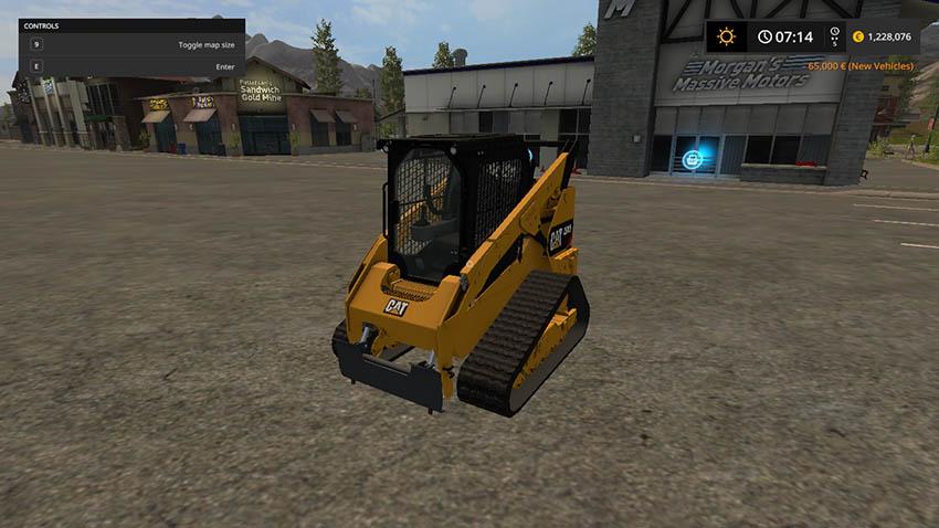 Cat 289D v 1.0