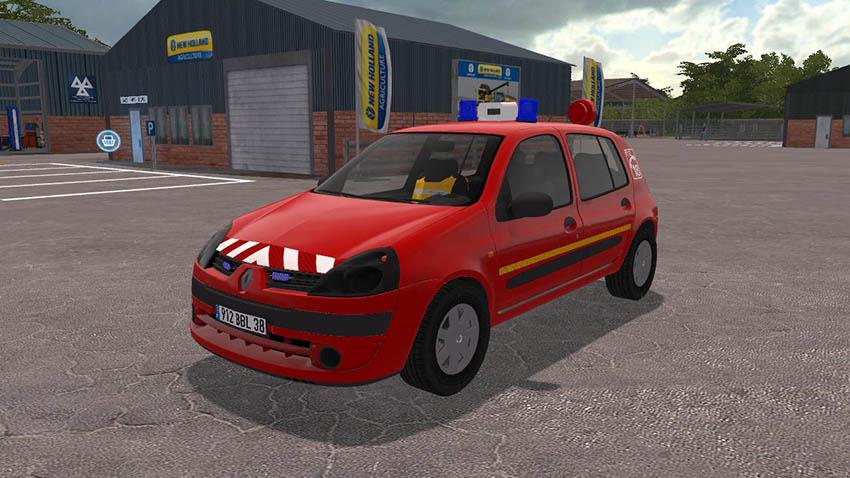 Clio 2 Pompier