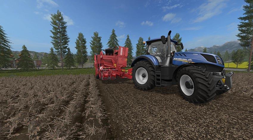 Grimme SE260 Potato harvester v 1.0