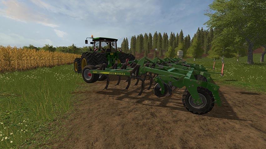 John Deere 420 Cultivator v 1.0