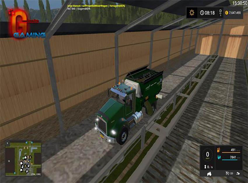 KENWORTH FEED TRUCK v 1.0