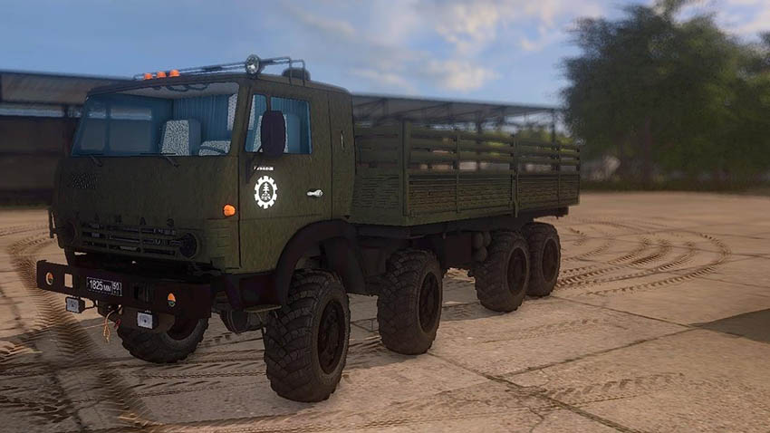 Kamaz 6350 Pack Reworked v 1.0