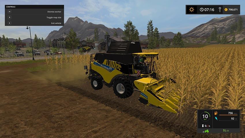 New HOLLAND CR 6.90 v 1.0