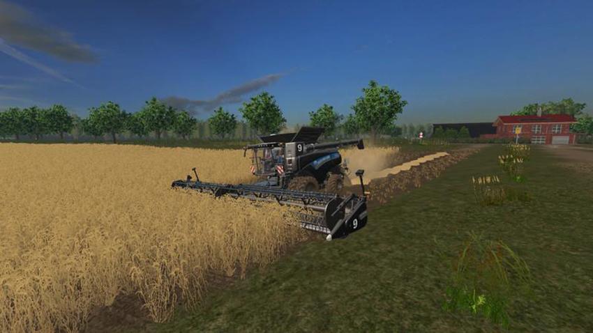 New Holland CR 10.90 with many extras v 1.0