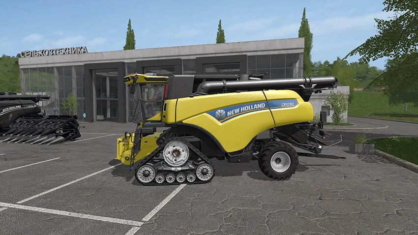 New Holland CR10 90 Pack & Baler Update fix v 1.0
