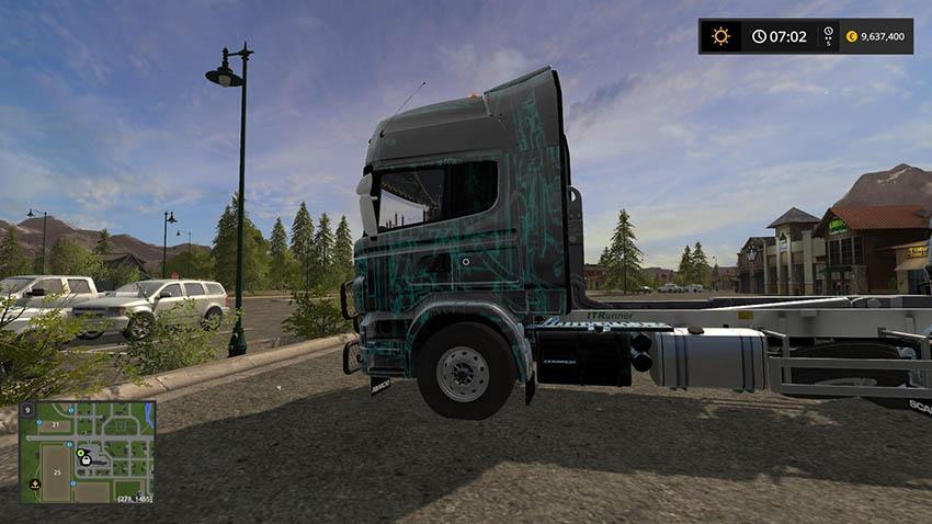 Scania Lift Multi Color skin v 1.0