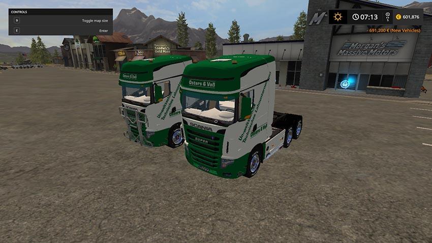Scania R700 Oster & Voss v 1.0