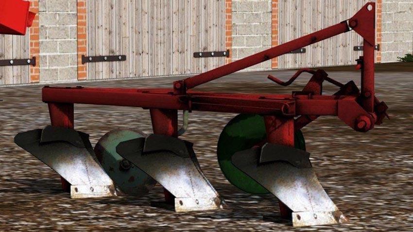 UNIA 3 furrow plow v 1.0