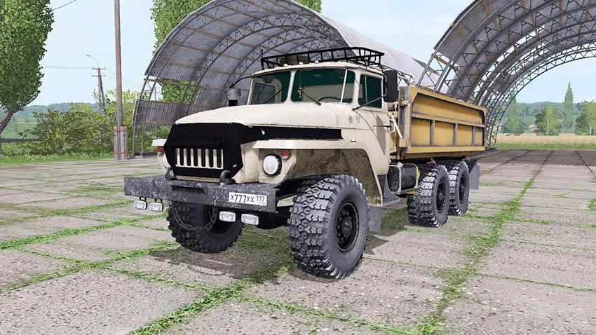 Ural 5557 SOMOSVAL v 1.0