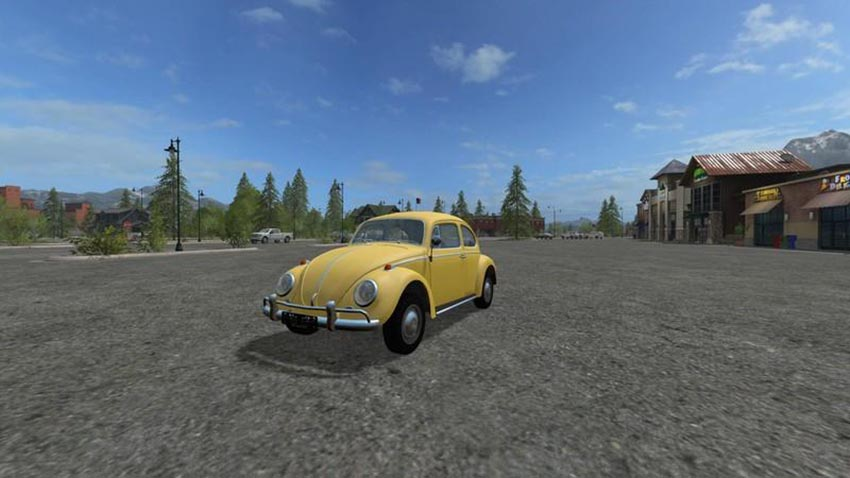 VW Beetle 1966 IC v 1.0