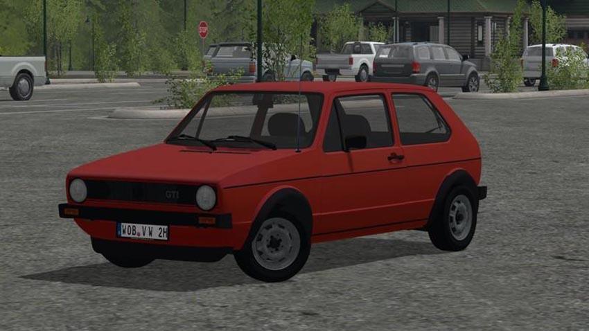 VW Golf I GTI 1976 v 1.0