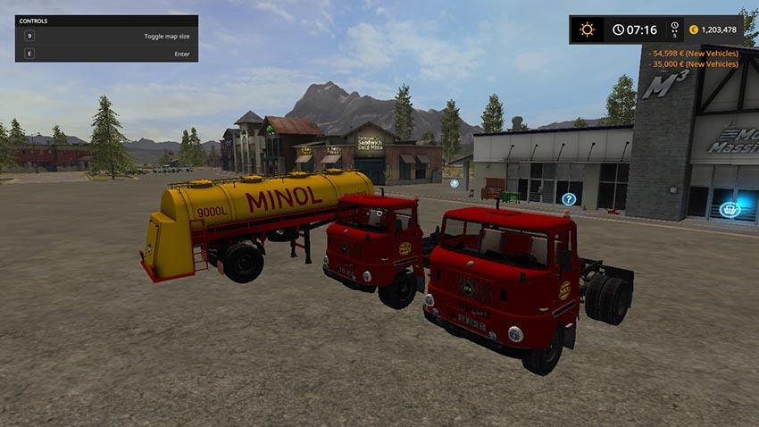 W50 Minol semi-trailer Final Version