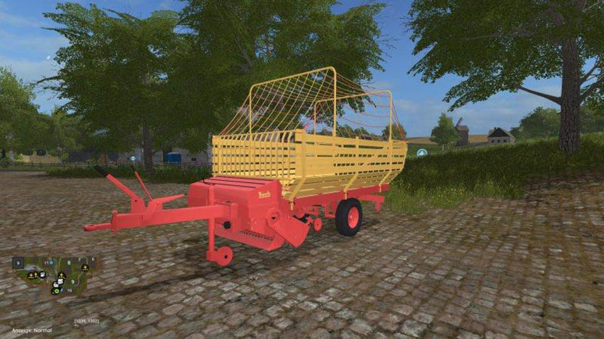 Bautz forage wagon v 1.0