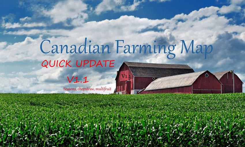 Canadian Farming Map Update v 1.1