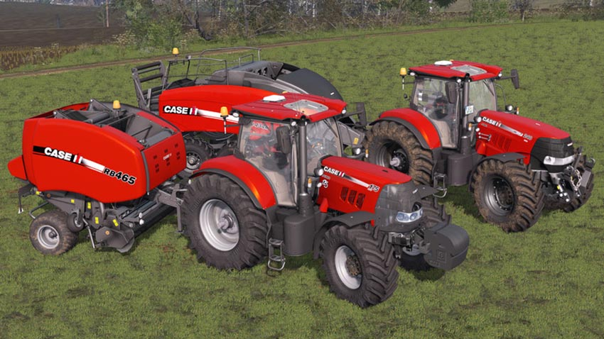 Case IH Baler Pack RB465 & LB434R V 1.1