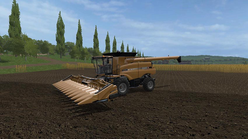 Case IH New holland Maize Header Pack v1.0