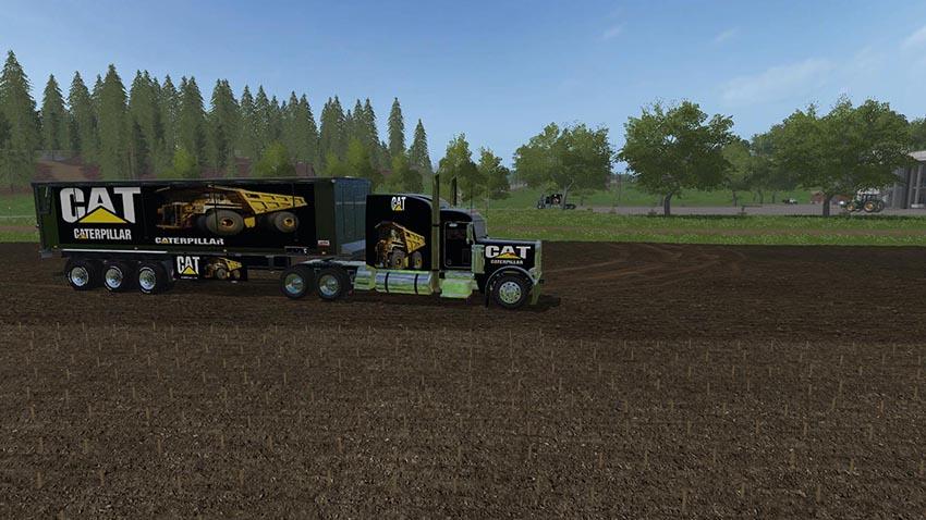 Caterpillar Trailer Bulk VE Peterbilt 388 VE v 1.0