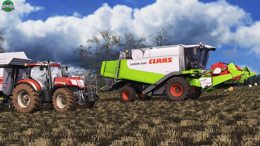 Claas Lexion 530 v 1.0 Alpha