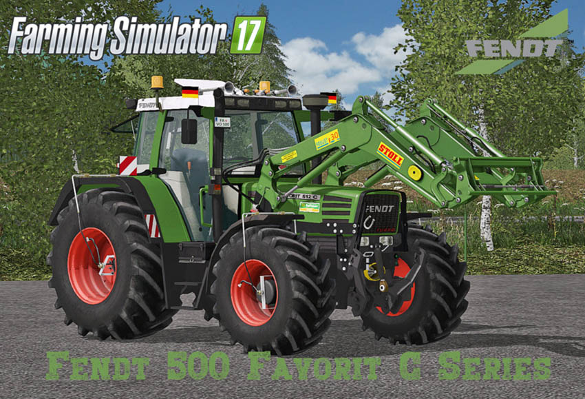Fendt Favorit 500 C Serie V 5.0 Final