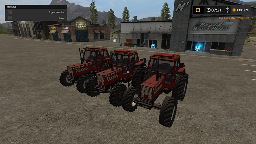Fiatagri 90 Series MR V 1.2