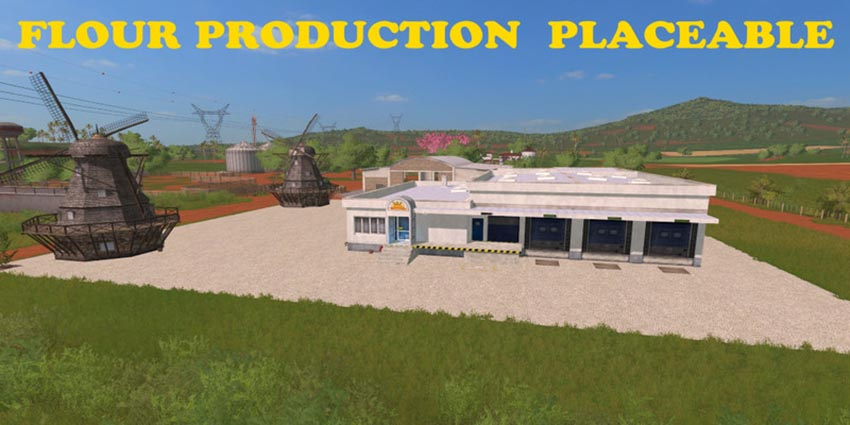 Flour Production Placeable V 1.0