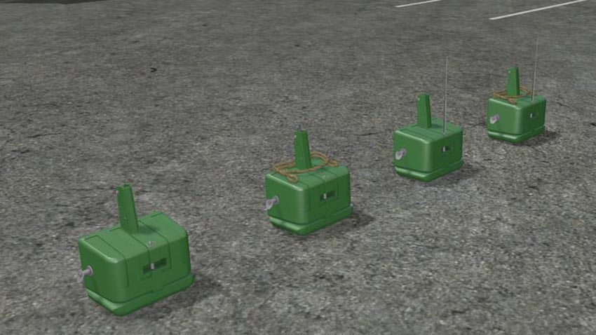 John Deere front weight v 1.0