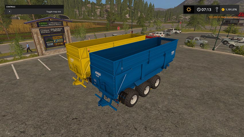 Krampe BBS900 update