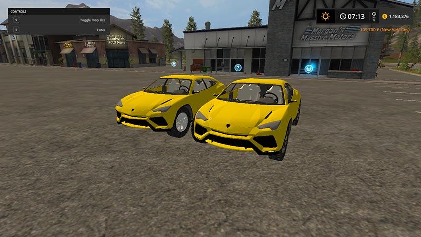 Lamborghini Urus Beta