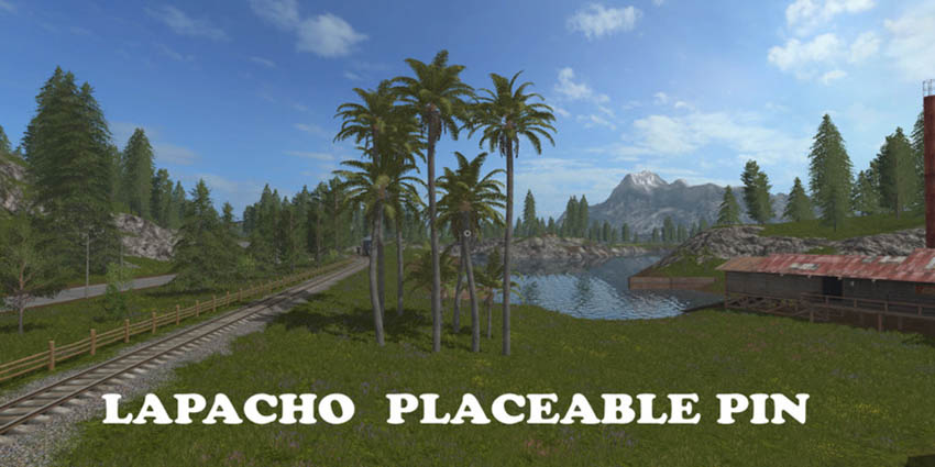 Lapacho Placeable Pin V 1.0