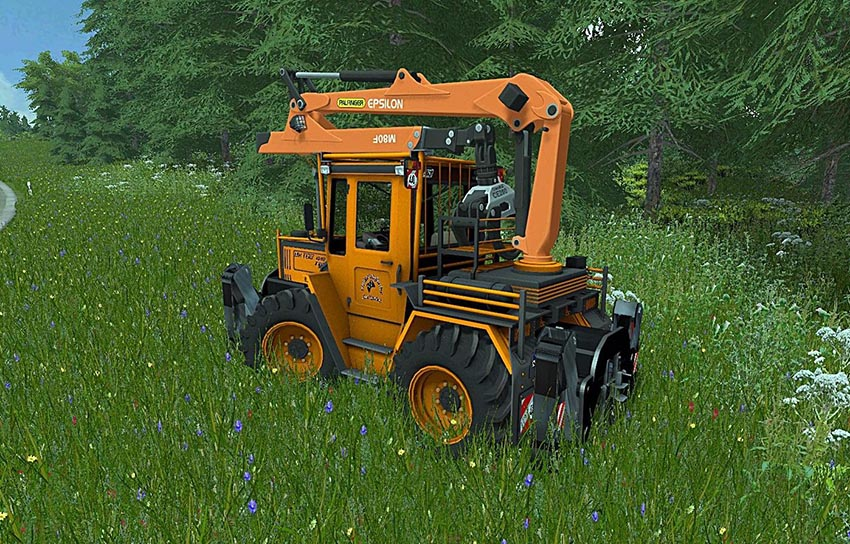 MB Trac 1000 Turbo Forstgreifer v 1.0