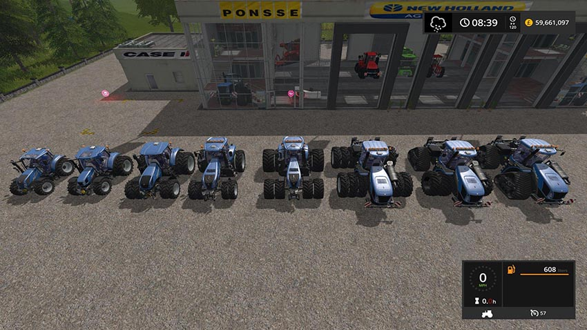 New Holland Tractor pack update