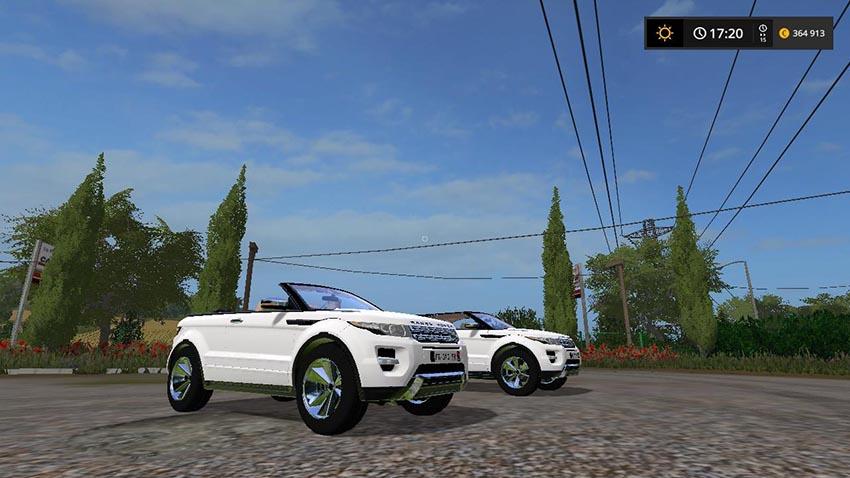 Range Rover Evoque Cabriolet v 1.0