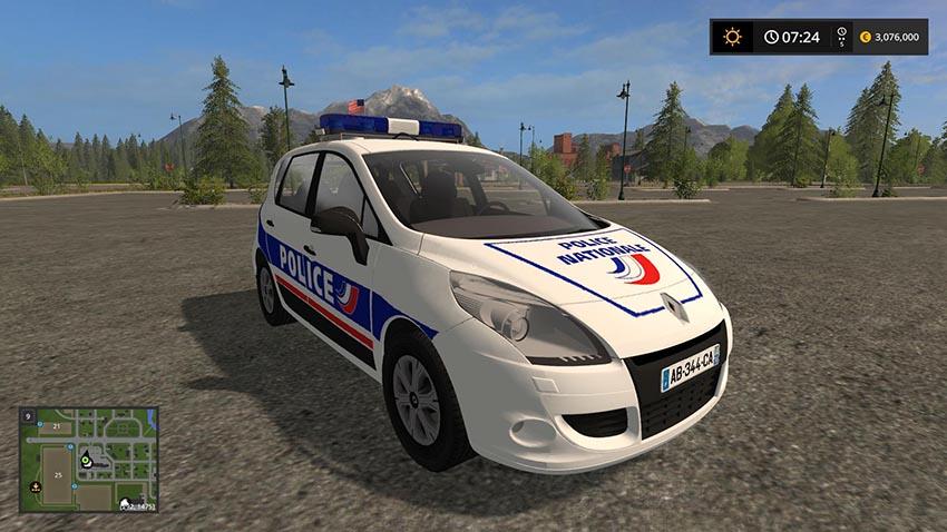 Renault scenic police national v 1.0