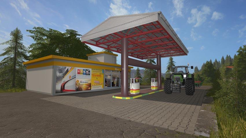 Shell gas station V 1.0